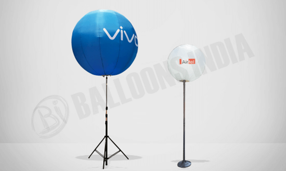 Pole balloons