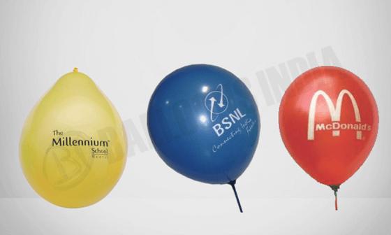 Rubber balloons