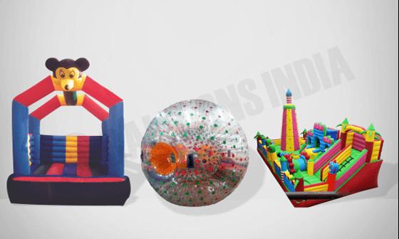 Sports inflatables / slides & bouncies